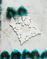 Náušnice - pierkové náušnice - mini - 10652191_