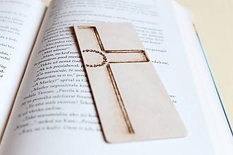 Papiernictvo - Malá drevená záložka do knihy
