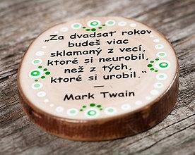 Magnetky - Magnetka - citát - Za dvadsať rokov - 10651137_