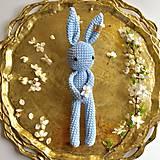 Hračky - Bunny hačkovaný zajačik - 10651237_