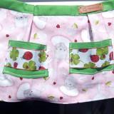 Detské oblečenie - Zàsterka pre najmenšiu kuchàrku - 10651092_
