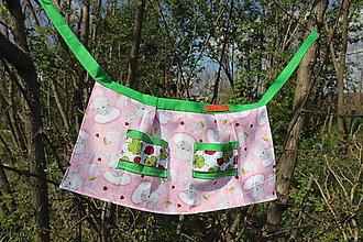 Detské oblečenie - Zàsterka pre najmenšiu kuchàrku - 10651722_