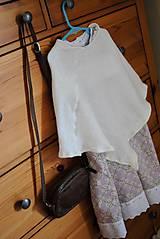 Detské oblečenie - Fialkové šatičky - 10651505_