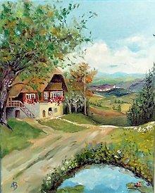Obrazy - Krajinka - 10654023_