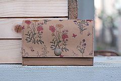 Peňaženky - Snappap peňaženka kvety - 10653915_