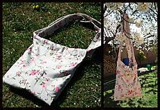 Nákupné tašky - taška na plece - 10653137_