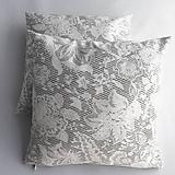 Úžitkový textil - Dekoračný vankúš sivý - 10654121_
