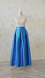 Sukne - Maxi sukňa s vreckami - 10653968_