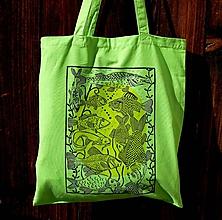 Nákupné tašky - taška ryby - 10652604_