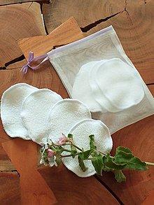 Úžitkový textil - odličovacie tampóny - 10653999_