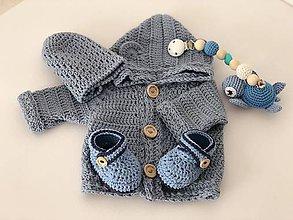 Detské oblečenie - Detský svetrík Merino Wave - 10652335_