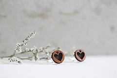 Šperky - Manžetové gombíky Srdce - 10652921_