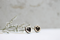 Šperky - Manžetové gombíky Srdce - 10652923_