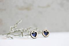 Šperky - Manžetové gombíky Srdce - 10652927_