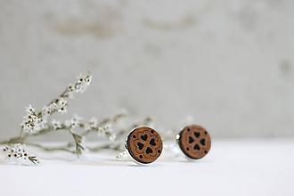 Šperky - Manžetové gombíky Štvorlásky - 10652914_