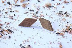Náušnice - Náušnice napichovačky - kosoštvorce - 10653752_