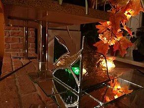 Dekorácie - Svietnik Tiffany 3 - 10653948_
