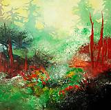 Obrazy - Zelený háj, 70x70 - 10653614_