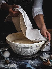 Úžitkový textil - Utierka z ručne tkaného plátna - 10653176_