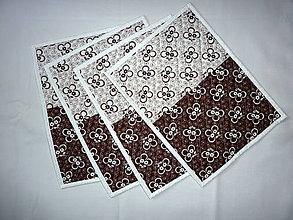 Úžitkový textil - Prestieranie - Hnedá 2 - 10652652_