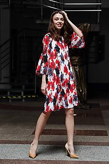 Šaty - Veselé plisované šaty - 10655580_