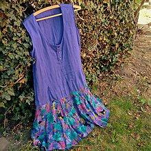 Šaty - Moletka Violka- zľava z 23,50 - 10655362_