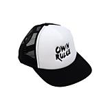 Detské čiapky - Detská šiltovka OwnRules white - 10655133_