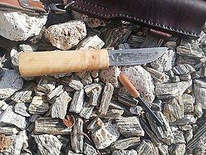 Nože - Jakutský nôž klasik - 10654342_
