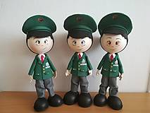 Dekorácie - Policajt - personalizovaná bábika  - 10654784_