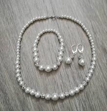 Sady šperkov - Svadobný set - 10654722_