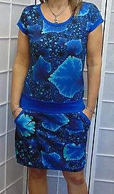 Šaty - Šaty modré krystaly XS - XXXL - 10656047_