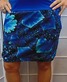 8edc86123c16 Sukně ledové květy S - XXL   INDIVIDUALITKY - SAShE.sk - Handmade Sukne