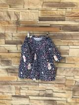 Detské oblečenie - Líškové šaty a body 2v1 - 10656044_