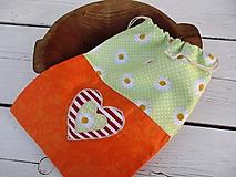 Úžitkový textil - vrecko-kvety - 10654317_