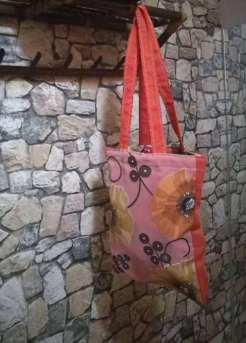 7a744b733 Plátená taška 733 / ManaJa - SAShE.sk - Handmade Nákupné tašky