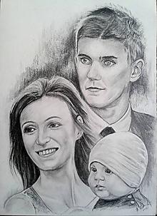 Kresby - mladá rodinka...:-) - 10654610_