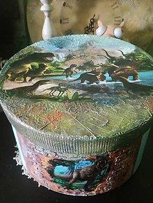 Krabičky - Jurkov svet dinosaurov - 10655215_