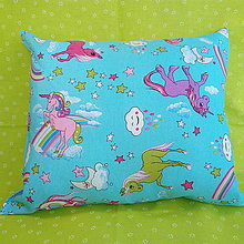 Textil - Vankúšik jednorožci - 10655505_