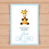 Papiernictvo - Detská narodeninová pozvánka - 10655846_