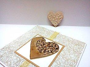 Papiernictvo - Pohľadnica ... vzorovaná láska II - 10657326_