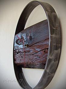 Hodiny - Hodiny nástenné rustic-industry 2 - 10657361_