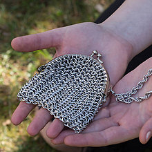 Peňaženky - Kroužkovaná mini peněženka - 10657586_