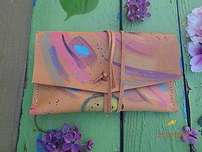 Peňaženky - Kožená peňaženka na mince - 10656824_