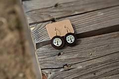 Náušnice - Naušky drevené stromky - 10656460_