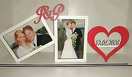 Darčeky pre svadobčanov - Svadobný fotorámik na mieru - 10656206_