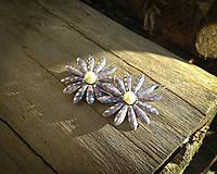 Náušnice - Kvetinkové náušnice - 10656092_