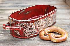 Nádoby - Forma na pečenie chleba - jablonická ľudová oválna - 10656325_