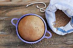 Forma na pečenie chleba - levanduľová čipka okrúhla