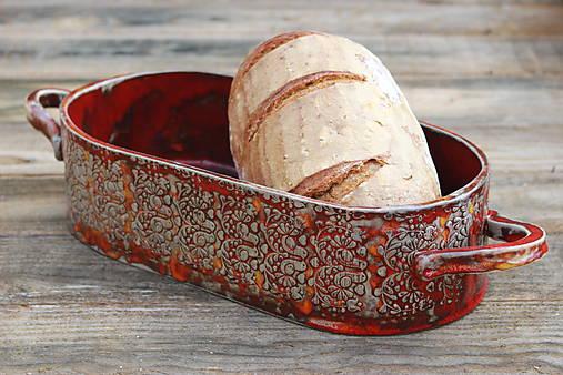 Forma na pečenie chleba - jablonická ľudová oválna