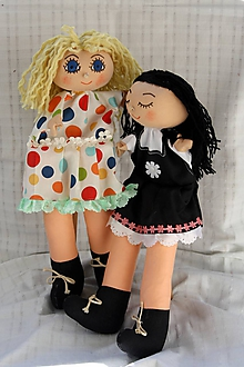 Hračky - Maňuška. Bábiky Mimi a Líza - 10657035_